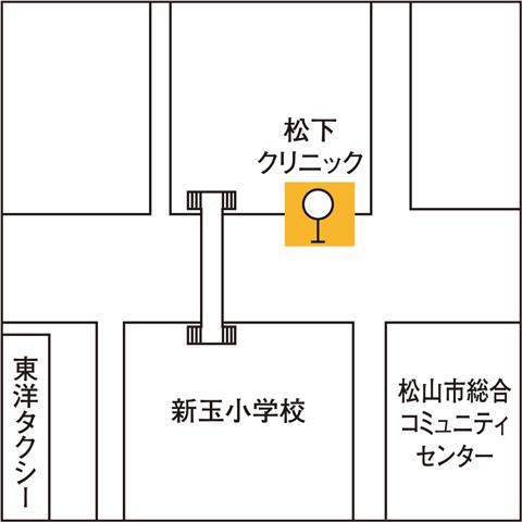松山コミュニティセンター前バス停